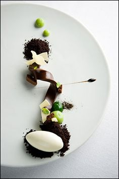 WD-50, New York. Soft chocolate / gastronomy