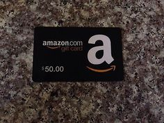 Amazon 50$ Gift Card & 50$ Outback Steakhouse Gift Cards(From: sonsofanarchy82)