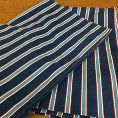Tommy Hilfiger Home Standard Pillowcases Set Lot of 2 Red White and Blue 20 X 30 #TommyHilfiger