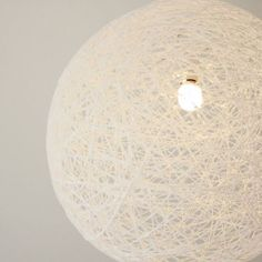 I really like thread ball lamps. They look amazing, cost little to make and would fit perfectly in my interior. So for my new home I decided to make one. I found a tutorial over at Pickles but I wa…