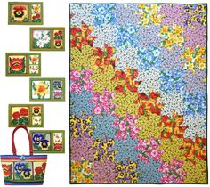 Makower UK -The Henley Studio quilting projects free downloads page