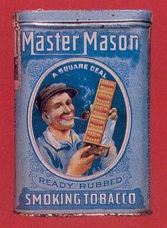 An interesting collectors item … Masonic Symbols, Sacred Symbols, Famous Freemasons, Jobs Daughters, Masonic Lodge, Eastern Star, Pipes And Cigars, Freemasonry, Old Signs