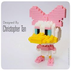 Nanoblock Daisy Duck design