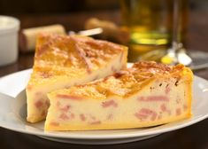 Slow-Cooker Ham and Cheese Crustless Quiche Cooking Ham In Crockpot, Slow Cooker Recipes, Cooking Recipes, Cook Ham, Cooking Corn, Ham Quiche, Ham And Cheese Quiche, Microwave Cake, Rich Cake