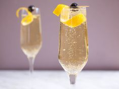 French 75, an elegant (but easy!) cocktail to make at home