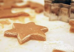We have an office cutie at work. She comes in every Tuesday. She's two.  She's adorable. Her favourite cookies are gingerbread men. So, of course  with my new cookie cookbook (thanks from my secret santa) I made my first  every batch of gluten free gingerbread just for her. Well, and the rest of  my co-workers!  Merry Christmas Mish!  Gluten Free Gingerbread  270g plain gluten free flour  120g buckwheat flour  1tblspn baking powder  2tsp ground ginger (I think this could go up to 3 pe...