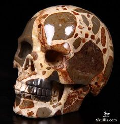 Mexican Poppy Jasper Crystal Skull Crane, Diy Jewelry Rings, Skull Artwork, Human Skull, Crystal Skull, The Grim, Rocks And Gems, Memento Mori, Gems And Minerals