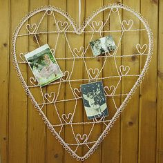 Wire Heart Card And Photograph Holder by Ella James, the perfect gift for Explore more unique gifts in our curated marketplace. Wire Picture Holders, Gift Card Displays, Unique Gifts, Great Gifts, Wedding Table, Wedding Reception, Wedding Ideas, Wedding Crashers, Gift Table