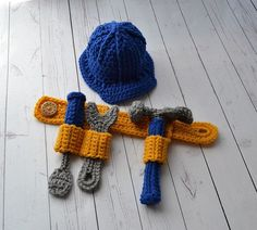 Tool Belt | 29 Unbelievably Cool Things You Can Crochet For A Baby