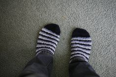 Fuzzy socks are just the best.