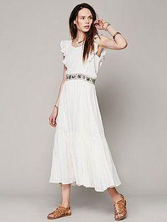 Simple, sweet, pretty.  Miles on My Heart Dress