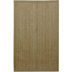 Seagrass is a hardy, durable fiber whose textural appearance adds depth and visual appeal to any room. The blend of natural colors - beige, green and russet provides a natural beauty for floors. And the distinctive, interesting character of seagrass fibers makes each rug unique, natures perfectly imperfect statement for the home.