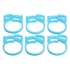 6pcs Plastic Wire Cord Cable Holder Fixer Snaps