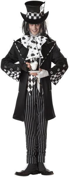 Dark Mad Hatter Adult Costume-maybe for matt for halloween