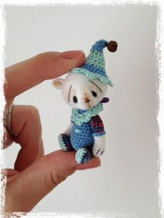 Mini Thread Crochet Bear - I wonder how hard this is to make?
