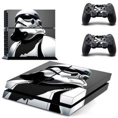 Limited Edition Glossy Vinyl Decal Cover Cooperative Skin Ps4 Pro Star Wars