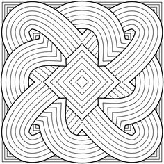 kaleidoscope pattern coloring pages bing images