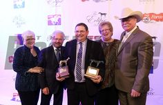 2014 Horse of the Year trainers Alan and Art Sherman and owners Mr/Mrs/ Steve Coburn. 2014 Eclipse Award photosbyz.com