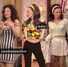 """Fran Drescher as Fran Fine in """"The Nanny"""" which won a Primetime Emmy for Outstanding Individual Achievement in Costuming for a Series in 1995 Fran Fine Outfits, Nanny Outfit, Tv Show Outfits, Fran Drescher, Fashion Tv, White Outfits, Passion For Fashion, Style Icons, Cheer Skirts"""