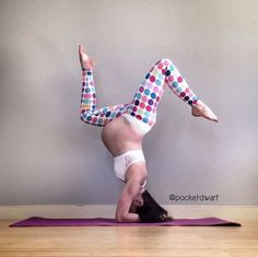 Photos: Yoga mom's pregnant poses will blow you away | BabyCenter Blog