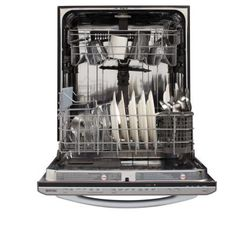 Maytag JetClean Plus Top Control Dishwasher in Stainless Steel with Stainless Steel Tub and Steam Cleaning