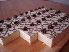Mozartove rezy Recept is part of Baking sweet Výborný zákusok - Czech Desserts, German Desserts, Top Recipes, Cake Recipes, Dessert Recipes, Oreo Cupcakes, Cake Cookies, Pastry Recipes, Baking Recipes