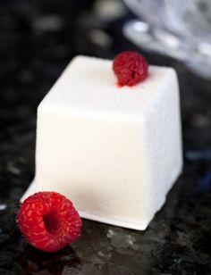White Chocolate and Raspberry Dessert