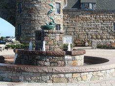 Fountain at the Towers, Narragansett, RI