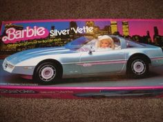 Barbie Corvette...had this, and both my girls played with it!