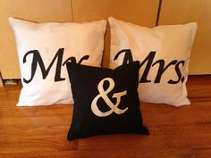 Mr. & Mrs. Pillows