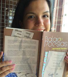 """Livro """"Balaio de poesias"""""""