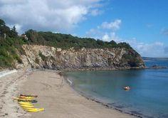 Porthpean Beach, St Austell, Cornwall