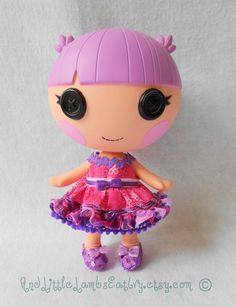 Lalaloopsy Littles Clothes  Slumber Party  by AndLittleLambsEatIvy, $6.00