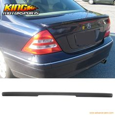 68.39$  Watch here - http://ali62s.worldwells.pw/go.php?t=32686926532 - For 01-07 Mercedes Benz W203 C-Class Rear Trunk Spoiler ABS Painted Matte Black