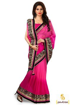 Make your fashion unique on this new year with this dark pink velvet designer saree collection online with festival special offer at pavitraa.in. This heavy worked embroidered saree best for wedding and party. #saree, #sari, #designersaree, #weddingwearsaree, #partywearsaree, #weddingbridalsaree, #Indianweddingsaree, #pavitraafashion More : http://www.pavitraa.in/store/party-wear-saree/ Call / WhatsApp : +91-76982-34040  E-mail: info@pavitraa.in