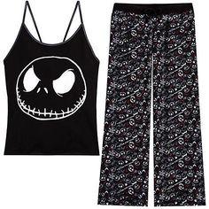 I Found U0027The Nightmare Before Christmas Pajama Set For Womenu0027 On Wish, Check
