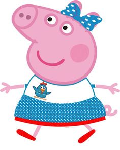 Peppa Pig Y George, George Pig, Anna Frozen, Familia Peppa Pig, Disney Pig, Peppa Pig Imagenes, Toot & Puddle, Peppa Pig Family, Minnie Mouse