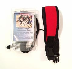New Op/Tech Classic Camera Strap Weight Reduction System, Red, Made in USA #OPTECH #Camera #Strap