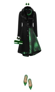 """Christmas Green"" by ittie-kittie ❤ liked on Polyvore featuring мода, M&Co, chikimiki, Isabel Marant, Fiorangelo, Isabel Englebert, Bling Jewelry, Chanel, Christmas и GREEN"