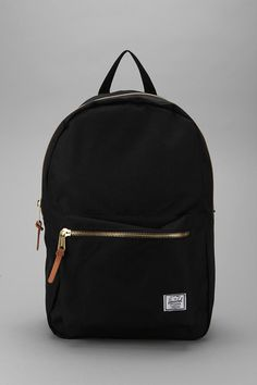 Updated backpack from heritage bag makers, Herschel Supply Co. The tough woven poly shell is cut slim for a modern silhouette. A large main compartment, lined with Herschel's signature striped nylon… Cute Backpacks, School Backpacks, Leather Backpacks, Backpack Purse, Mini Backpack, Black Backpack School, Camo Purse, Jansport Backpack, Laptop Backpack
