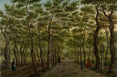 Week 32 The Herepad in the Haagse Bos, Paulus Constantijn la Fargue, 1778