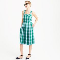 J.Crew gingham dress.  i didn't get excited about much in the catalog but i really liked this dress!