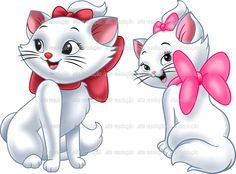 Cat Wallpaper, Disney Wallpaper, Painting Patterns, Fabric Painting, Mickey Mouse Drawings, Marie Cat, Bunny Images, Disney Cats, Marie Aristocats