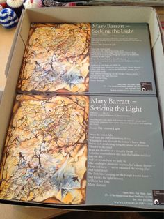 Seeking the light by Mary Barratt opens @cupolagallery on Friday 6 February. All welcome. #sheffieldissuper