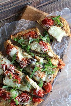 Grilled Chicken Margherita Pizza