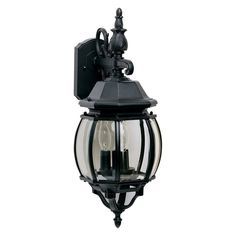 Maxim Crown Hill Outdoor Hanging Wall Lantern - 23H in.