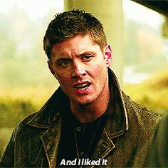 """""""And I liked it"""" [gif]; Dean remembering how he liked torturing in 4x11 Family Remains"""