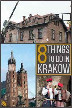 8 Things To Do In Krakow | Thinking of visiting Krakow, check out some of the things to do in the Polish city! | Submerged Oaks