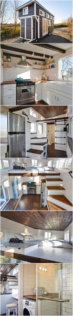 A Customized Home On Wheels With Clever Design And Storage Solutions