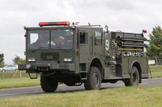 military fire trucks | Fire Engines Photos - US Air Force Fire department RAF Fairford